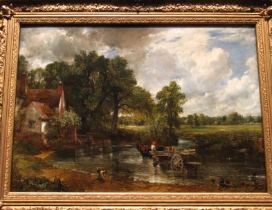 The Hay Wain, 1821, oil on canvas, by John Constable