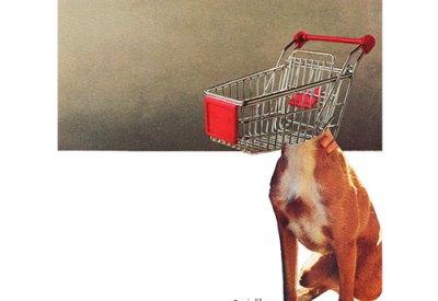 Perro de supermercado