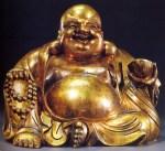 China - Buda sentado (Bronze) - Dinastia Qing - séc XIX