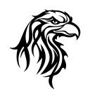 Tribal_Eagle_Head_by_rstovall