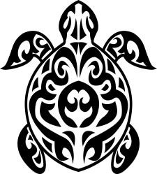 turtle_tribal_tattoo