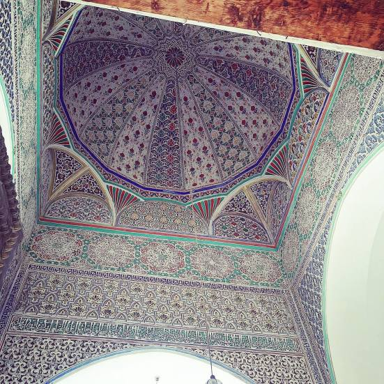 The roof sculpture at Al Quaraouiyine Mosque