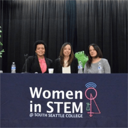 Dominique Simmons spoke on Women in STEM panel discussion