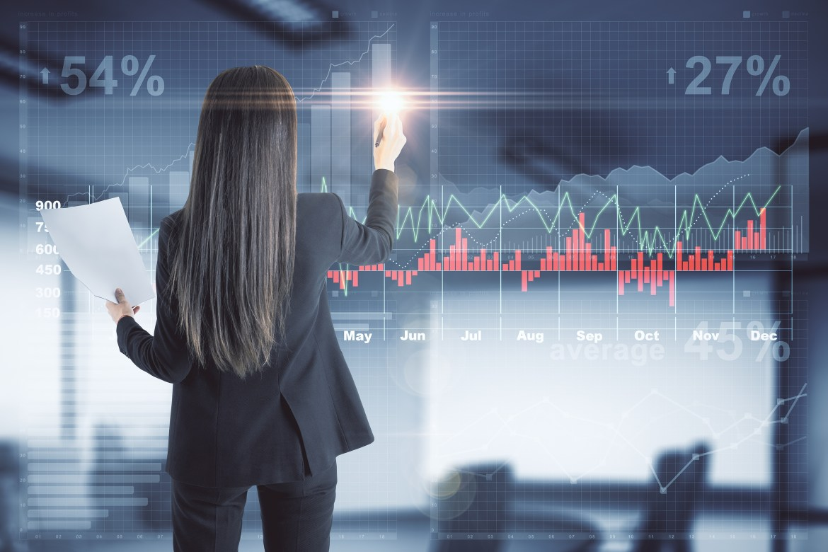 AI in Finance and Insurance - sales forecasting using AI
