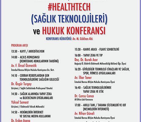 Istanbul Bar Association Health Technologies Conference – 14.2.2018