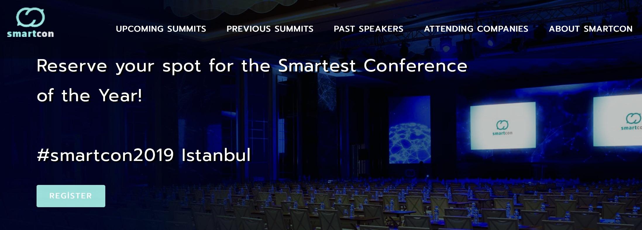 Istanbul, Smartcon Summit – 1.10.2019