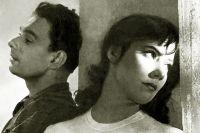 Татьяна Самойленова және Алексей Баталов. «Fly Cranes», 1957 ж.