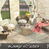 """Lounge """"Сactus""""."""