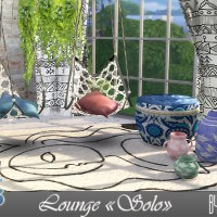 "Набор мебели и декора для The Sims 4 "" Solo""."