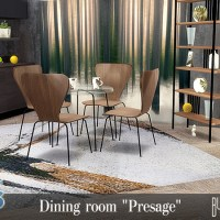 """Набор мебели и декора для столовой """"Presage"""""""
