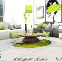 Мебель и декор для TheSims 4 Lime.