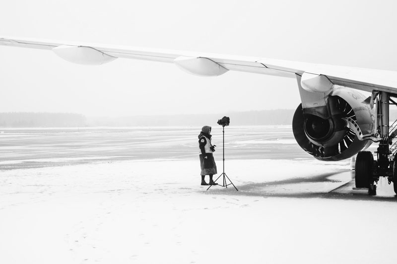 AirBaltic Calendar backstage