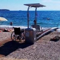 Καθυστέρηση εγκατάστασης των μηχανημάτων πρόσβασης Ατόμων με Παραπληγία και Κινητικές Αναπηρίες  στις παραλίες της Αχαΐας