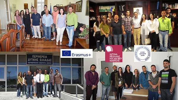 Σε διαδοχικές συναντήσεις προχώρησαν οι συμμετέχοντες νέοι στο σχέδιο «Τοπικό Όργανο Δημοκρατικής Συμμετοχής Νέων» του προγράμματος της Ε.Ε. Erasmus+