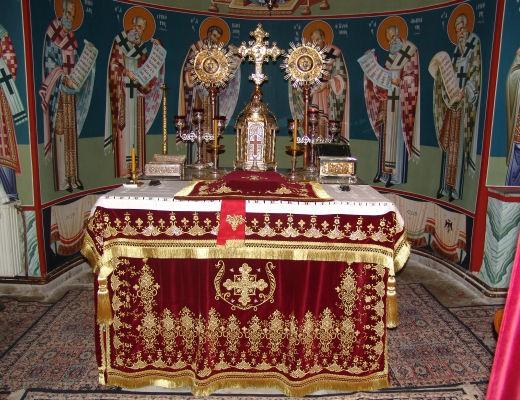 Κλοπή Ιερού Αρτοφορίου και Κανδηλών Αγίας Τραπέζης