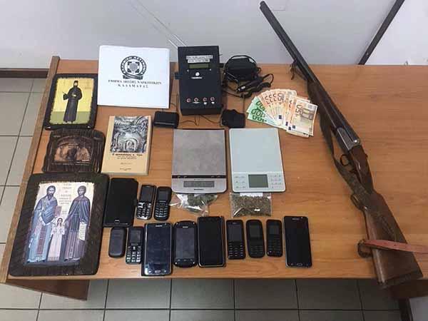 Εξαρθρώθηκε εγκληματική οργάνωση τα μέλη της οποίας δραστηριοποιούνταν συστηματικά σε λαθρανασκαφές