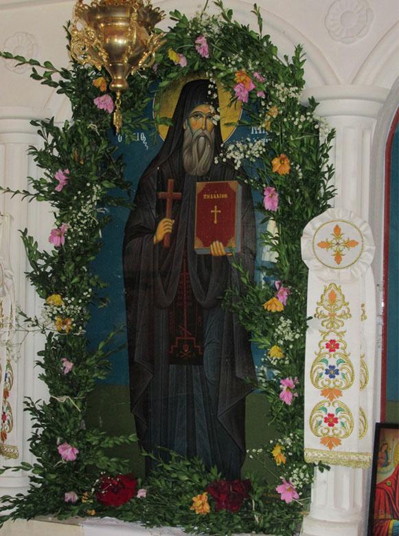 Τελέστηκε όπως κάθε χρόνο η Ιερά Πανήγυρις του Αγίου Νικοδήμου του Αγιορείτου