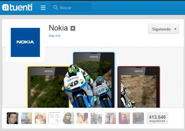 Nokia y Tuenti