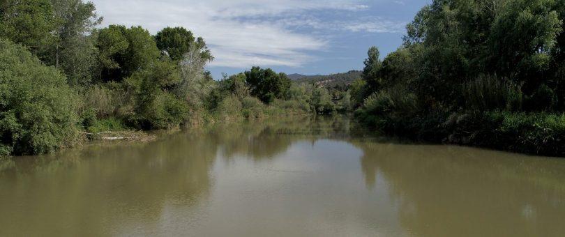 El riu Llobregat
