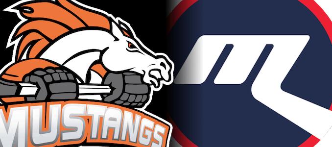 Mustangs vs Ice