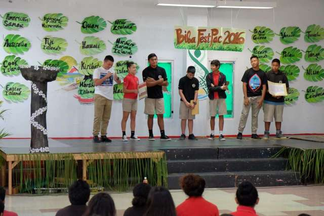 FestPac Performances 8th Graders March 30, 2016