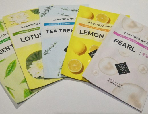 Etude House Sheet Masks