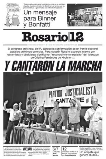 Tapa Rosario 12 del 6 de febrero de 2011