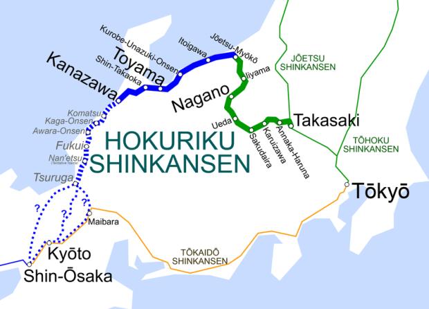 Hokuriku_Shinkansen_map