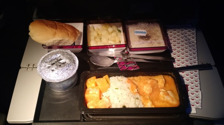 Cena en Qatar Airways