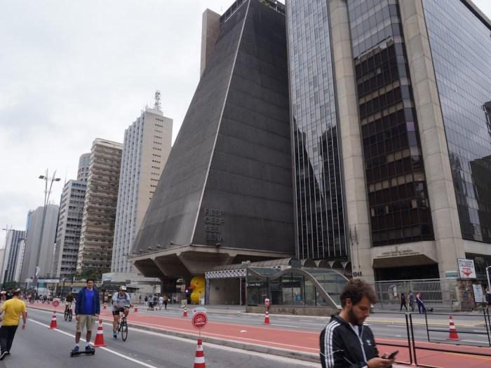 Avenida Paulista en Sao Paulo