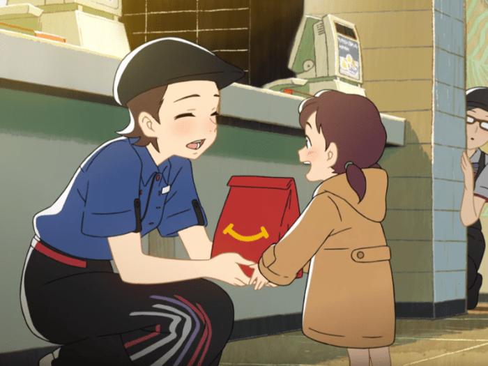 McDonald's Japón Animé