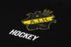 svart t-shirt med AIK tryck