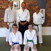 AYACT members graded by Darren Friend Shihan and Peggy Woo Sensei in Sydney February 2020