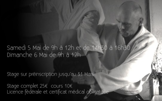 Stage à Lapanouse-de-Cernon - 5 & 6 mai 2018
