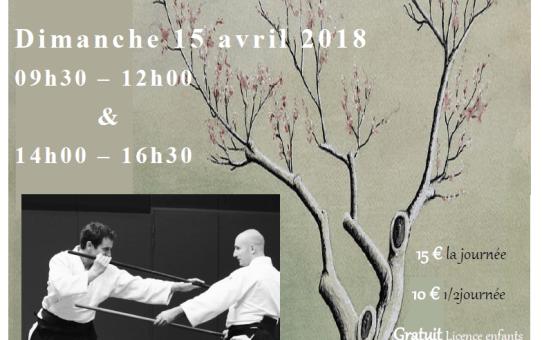 Stage Xavier Dufau à Condom 15 avril 2018