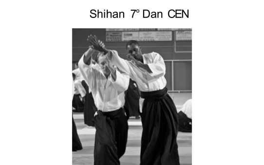 2 février 2019 stage animé par Henri Avril Shihan 7ème dan CEN