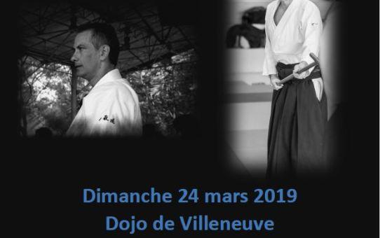 24 mars 2019 Stage animé par Patrick Henner 4ème dan et Yann Goffin 4ème dan à Villeneuve-sur-Lot