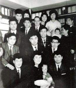 Deshi du Hombu Dojo dans les années 60