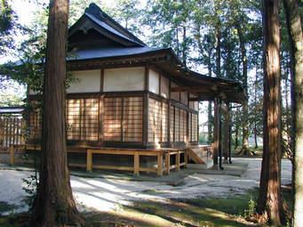 Le sanctuaire (Aiki Jinja) à Iwama