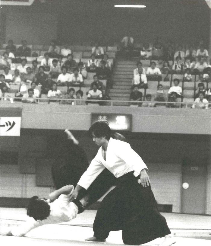 Uke en démonstration par Shibata Sensei au début des années 1980