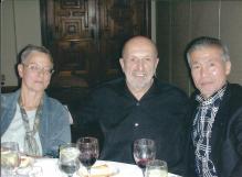 Summer Camp San Diego : De gauche à droite : Elizabeth Lynn, Didier Boyet, Miyamoto Sensei