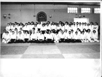 1er stage d'été avec Chiba Sensei – Villefranche-de-Rouergue 1973