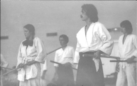 Un de mes premiers stages avec Tamura Nobuyoshi Sensei. 1972/73
