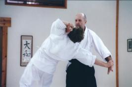 Stage au dojo Daiwa Aikido de Burbanks en Californie. Début des années 2000.