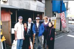Novembre 2006, visite des shihans du Birankai North America à Mitsuzuka Takeshi Sensei – De gauche à droite: Michael Flynn, Mme Mitsuzuka, Didier Boyet, Mitsuzuka Takeshi, Loraine DiAnne, Gloria Nomura