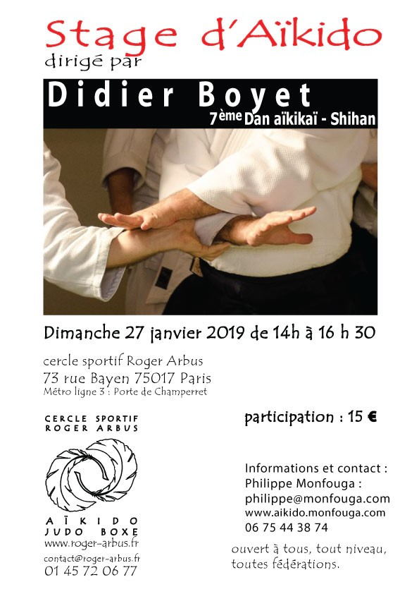 Stage Didier BOYET-Paris_20190127