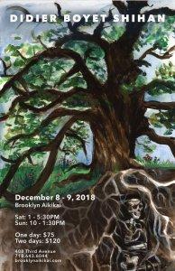 [:fr]Stage - 8 et 9 décembre '18 - Brooklyn Aikikai (Brooklyn, NY, USA)[:en]Seminar - December 8th and 9th '18- Brooklyn Aikikai (Brooklyn, NY, USA)[:] @ Brooklyn Aikikai