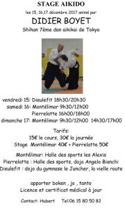 [:fr]Stage - 16-17 Décembre '17 - Montélimar[:en]Stage - December 16-17th '17 - Montelimar[:] @ Halles des sports Les Alexis