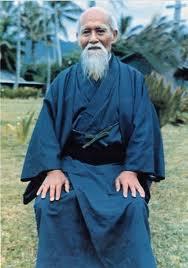 Morihei Ueshiba O Sensei.