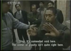 Stop: Está un poco vacío aquí. El centro de gravedad no está bien aquí.